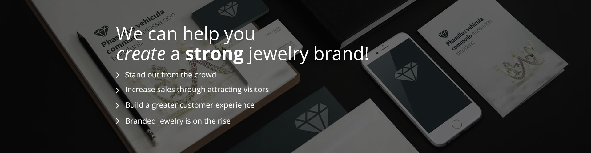 create a strong jewelry brand