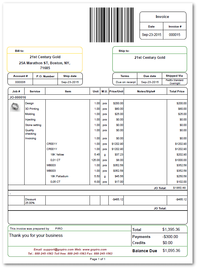 Create Your Own Receipt Pdf Accounting Features  Piro Proforma Invoice Letter Sample with Receipt Number Quick Tour Invoicing  Free Online Invoices Printable Excel