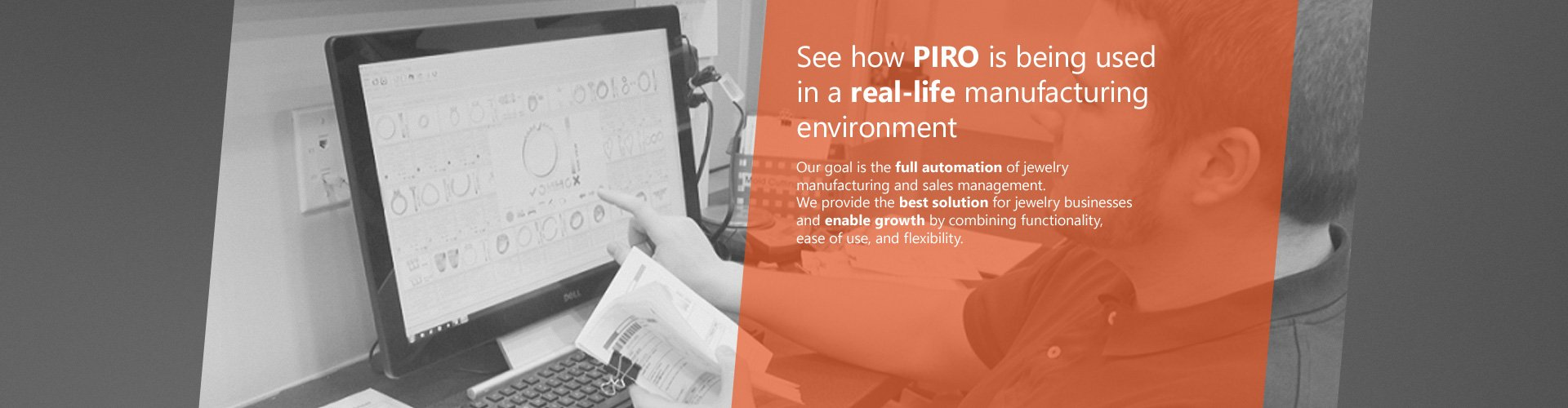 PIRO | Jewelry manufacturing and retail software