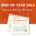 PIRO end of year sale